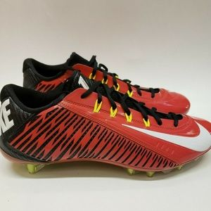 Nike Red Black Vapor Carbon 2.0 Low Cleats